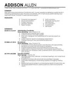 administrative services manager resume exle resume administration