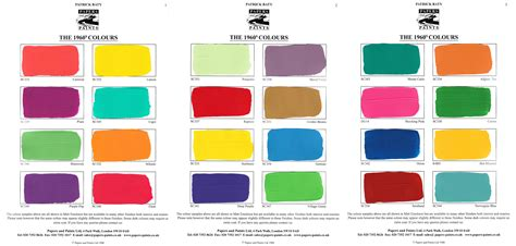 another look at 1960s paint colours baty