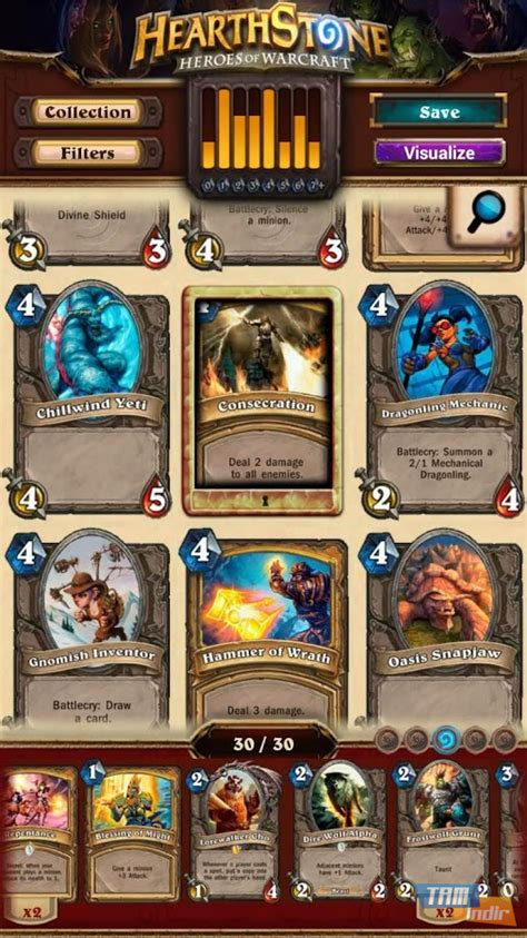 Hearthstone Deck Maker Arena by Hearthstone Deck Builder Indir Android I 231 In Hearthstone