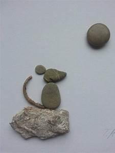 Beeteinfassung Stein Selber Machen : bild aus kieselsteinen maus von tamikra auf tamikra kunst mit stein ~ Markanthonyermac.com Haus und Dekorationen