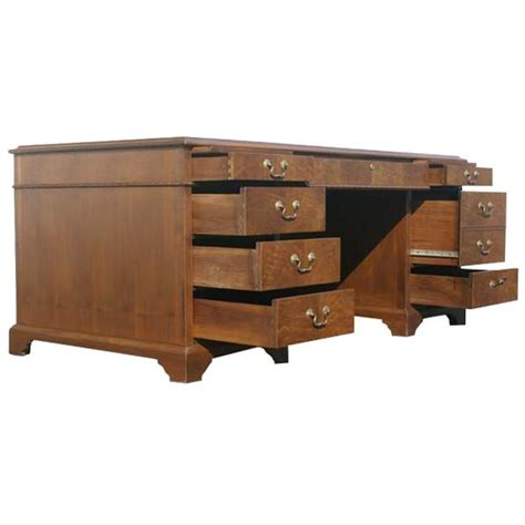 restored walnut shelbyville and jofco hutch and desk