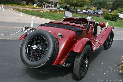 1930→1932 Alfa Romeo 6c 1750 Gran Sport