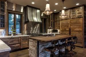 idees deco une cuisine rustique pour toutes les saisons With idee deco cuisine avec magasin meuble rustique