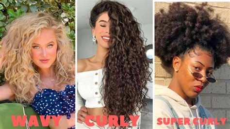 How To Find Your Curl Type ALL Hair Types w/ Pictures