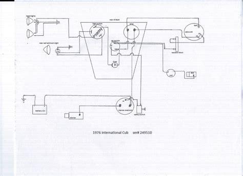 Wiring Diagram Farmall Cub