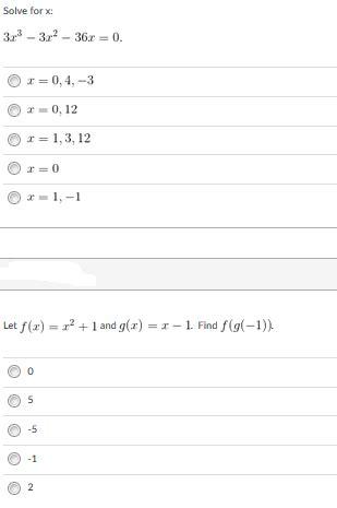 solved solve for 3x 3 3x 2 36x 0 0 4 3 chegg