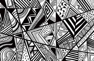 Artsy Black And White Wallpaper High Resolution for ...
