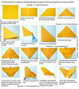 Pliage De Serviette Papillon : pliage de serviette en papier facile a faire fashion designs avec pliage serviette poisson 1er ~ Melissatoandfro.com Idées de Décoration