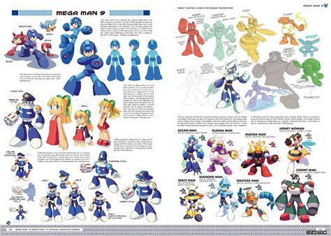 Limited Mega Man Art Book Celebrates 25th Anniversary