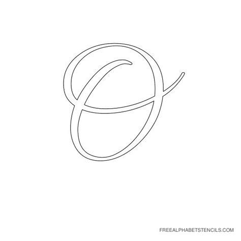 Capital Letter Outline Font