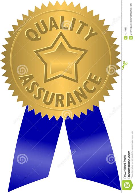 quality assurance sealeps royalty  stock photography