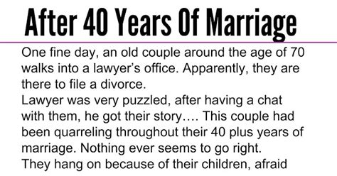 years  marriage