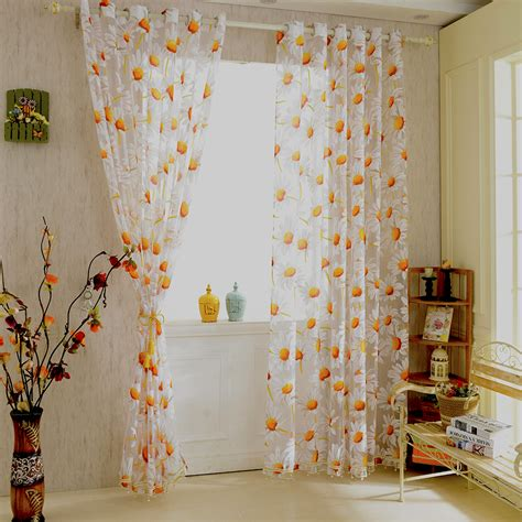get cheap orange white curtains aliexpress