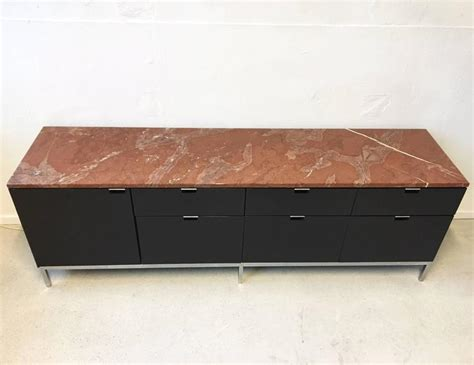 Exclusive Credenza With Refrigerator And Marble Top, By