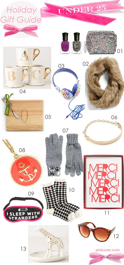 holiday gift guide under 25