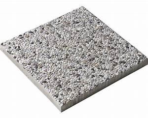 Dalle de béton lavé grise 40x40x3 8 cm Acheter sur HORNBACH ch