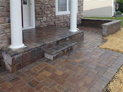 brick patio modern patio outdoor