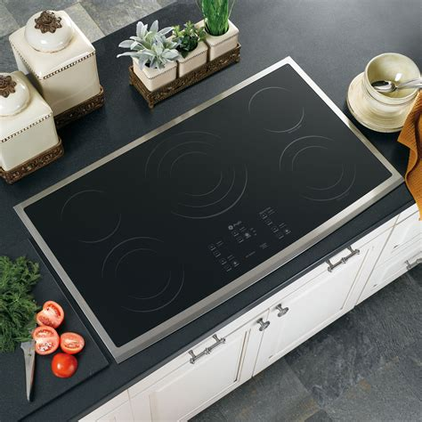 ge gas cooktop 36 inch ge profile series pp975smss 36 quot built in electric cooktop