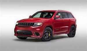 Jeep Cherokee 2018 : the 2018 jeep grand cherokee trackhawk a hellcat powered suv hot rod network ~ Medecine-chirurgie-esthetiques.com Avis de Voitures
