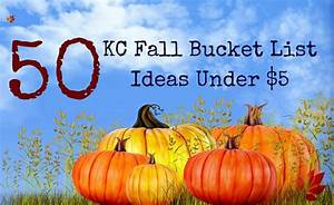 50 Kc Fall Bucket List Ideas Under  5