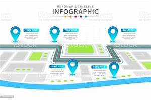 Infographic 6 Steps Modern Timeline Diagram With City