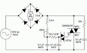 Dc Permanent Magnet Motor Speed Control Schematic