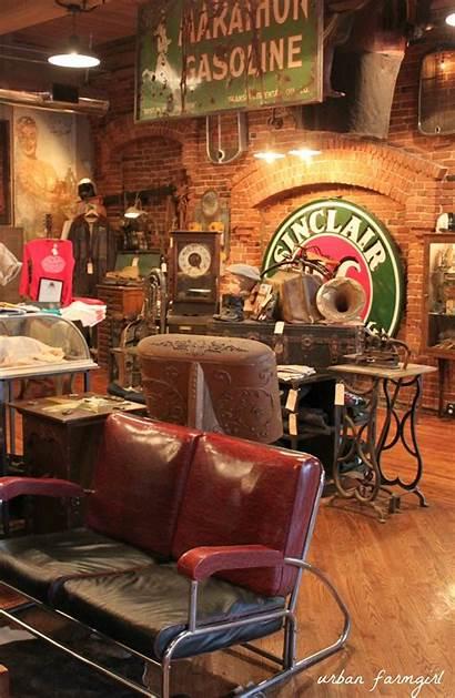 Pickers American Nashville Industrial Antique Archaeology Garage