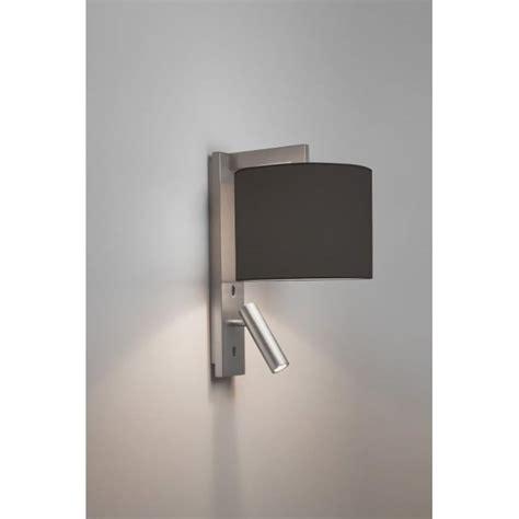 astro 7458 ravello led 2 light wall light matt nickel