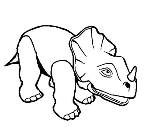 Triceratops Kleurplaat by Triceratops Ii Coloring Page Coloringcrew
