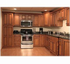 Wooden Kitchen Cabinet Hpd455 - Kitchen Cabinets - Al