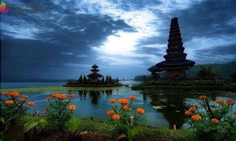 bedugul bali tempat wisata  indonesia  terkenal