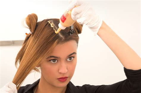 Coloring Hair At Home by How To Color Hair At Home Step By Step Beautylish