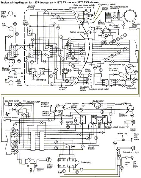 Wiring Diagram For Harley Davidson Fxe This Really