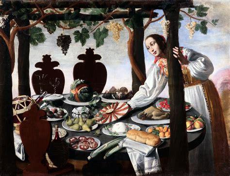la comida en el arte una mirada  traves de cuatro