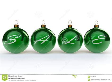 christmas sale baubles stock illustration image of