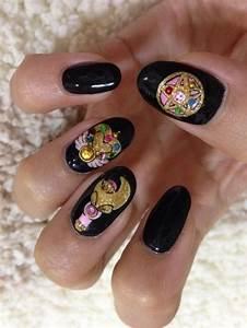 Sailor moon nails | Nails | Pinterest | An, Hand painted ...