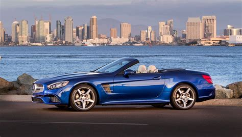 Review Mercedes Sl Class by Driving The 2017 Mercedes Sl Class Convertible