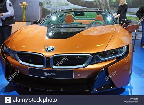 bmw i8 electric in hybrid sports car stock bmw i8 electric in hybrid sports