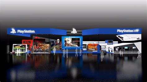 corner booth kitchen sony reveals g 2015 booth layout playstation vr