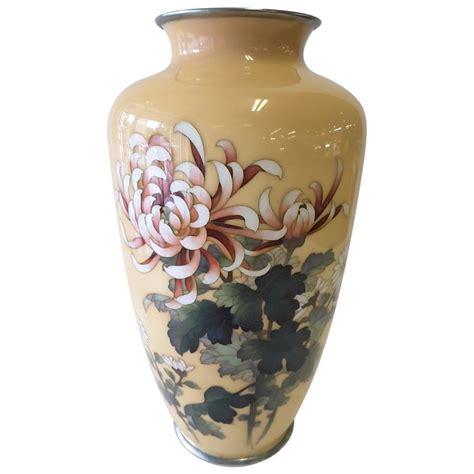 japanese cloisonne vase japanese cloisonne enamel vase by ando jubei meiji period