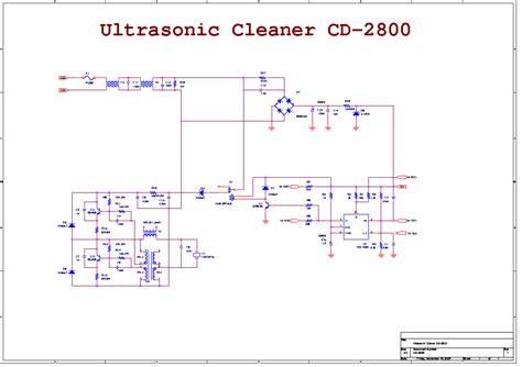 diy ultrasonic cleaner circuit diy unixcode