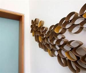 Sculpture Murale Design : d coration murale design 20 exemples diy ~ Teatrodelosmanantiales.com Idées de Décoration