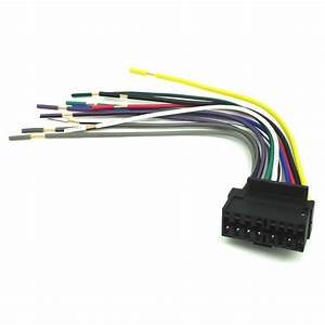 16 Pin Radio Cd Player Stereo Receiver Wiring Harness Wire For Jvc Kd G700 Ks F130 Kd S640wt Kd