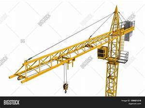 3d Rendering Yellow Construction Image  U0026 Photo