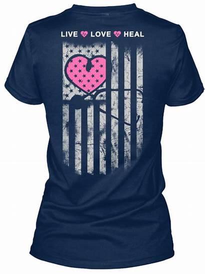 Nurse Shirt Shirts Flag Nursing Heart Nurses