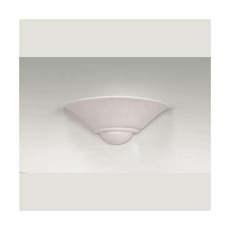 endon lighting single light white ceramic wall fitting
