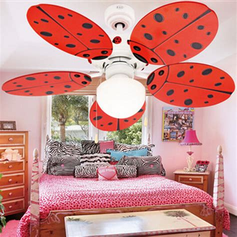 Lovely Kids Ceiling Fan Modern Fan Lamp For Kids Room