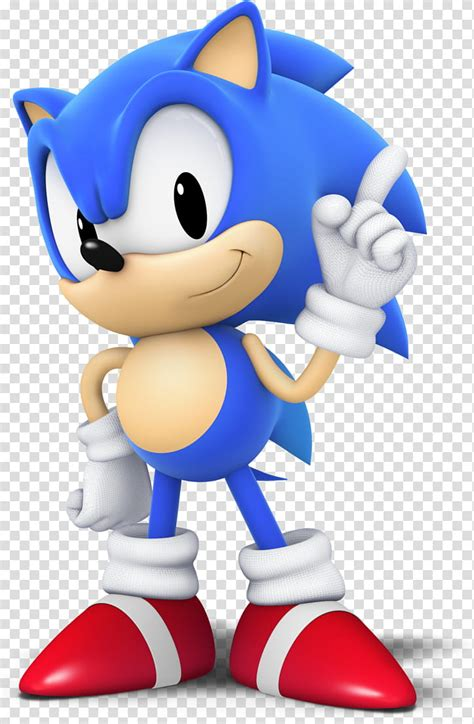 Classic Sonic (CG Style), Sonic the Hedgehog character ...