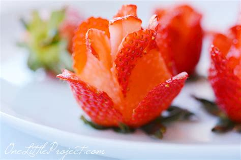 what can i make with strawberries how to make a strawberry rose strawberry roses bouquet
