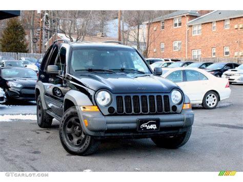 black jeep liberty 2005 black clearcoat jeep liberty sport 4x4 100557287